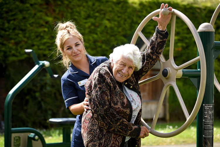 coverage care homes in shropshire